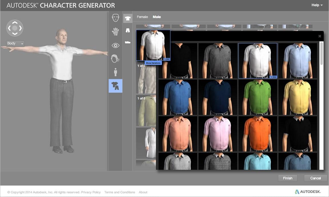 Character Generator |3D Character Creation | Kanisco