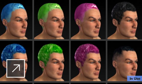 Character feature fine-tuning