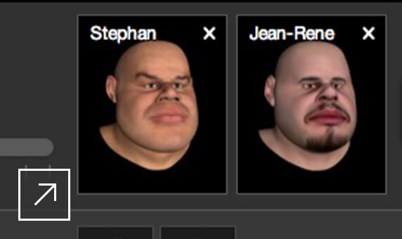 Source character blending feature