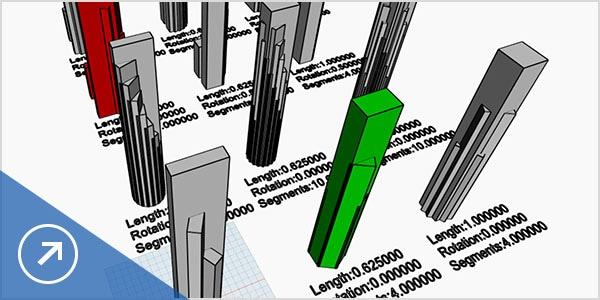Use data to explore design options