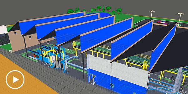 Video: The aggregation of 3D data from different CAD systems for design and manufacturing into a single digital model