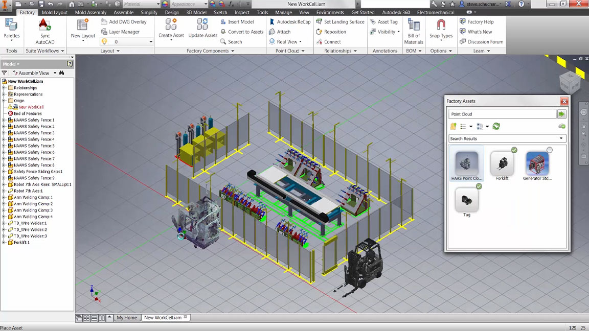 Factory Design Utilities Factory Design Software Autodesk
