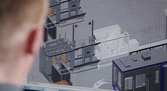 동영상: 공장 레이아웃 및 작업 프로세스를 계획하고 있는 독일 제조업체