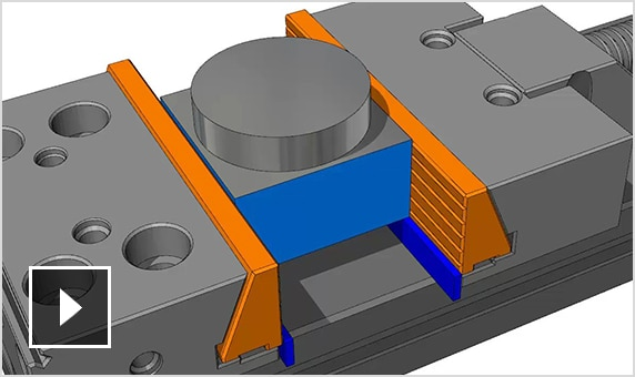 Video: FeatureCAM updates toolpaths to help avoid collisions with workholding devices