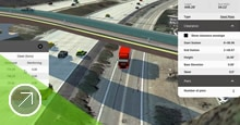 Access specialized applications for roadway, bridge, and drainage