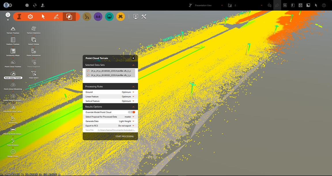 Build 3d gis data into your terrain models