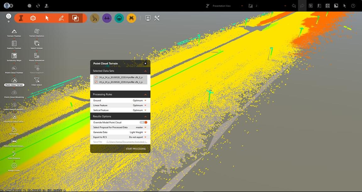 Build 3d gis data into your terrain models