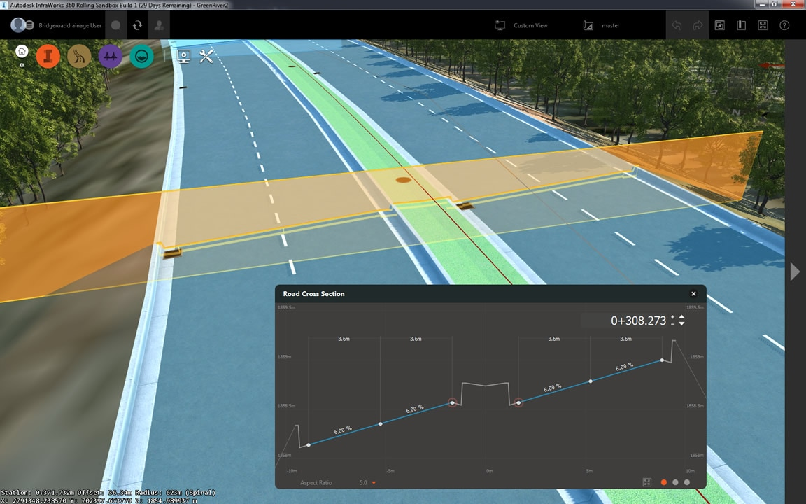Smarter pavement drainage enables more responsive conceptual design