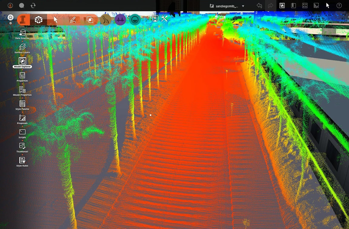 Import and manage point cloud more easily