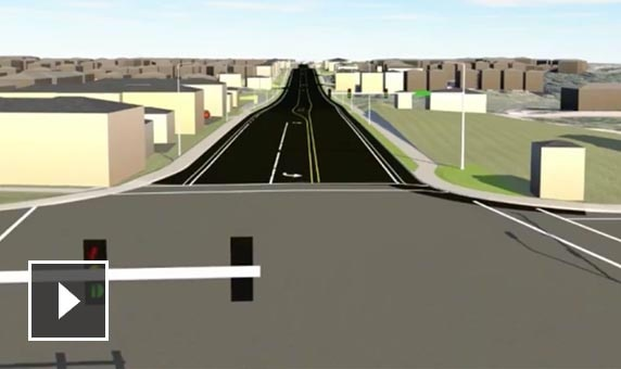 Video: In this road-widening project, visualizations let stakeholders explore proposed designs dynamically