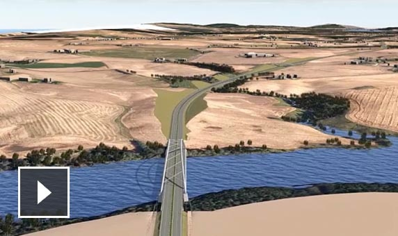 Video: Danish engineering firm creates 3D models that include existing geographical conditions