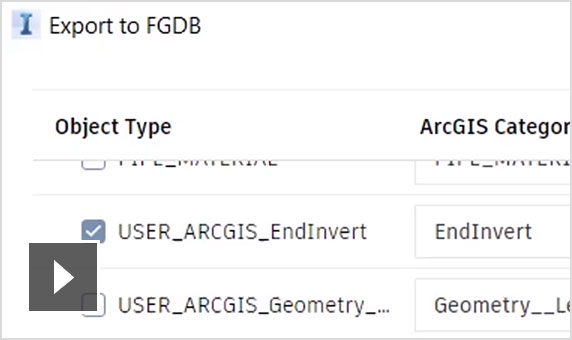 Updates to the Connector for ArcGIS in InfraWorks