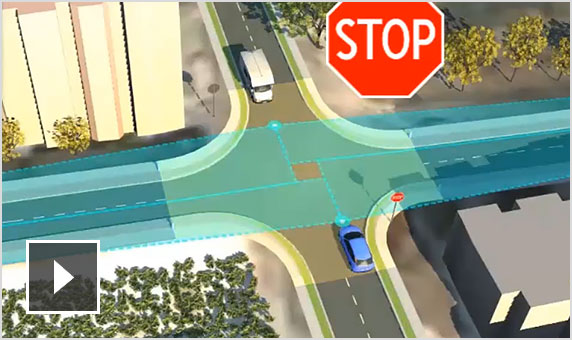Video: Silent screencast of intersection sight analysis and road decoration detection in InfraWorks