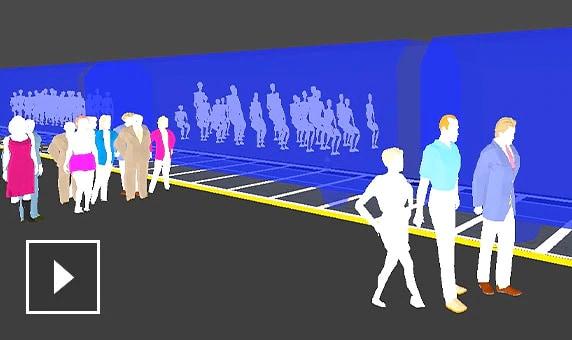 동영상: 많은 운송 옵션을 검토하고 교통 문제에 대한 솔루션을 탐색할 수 있는 사실적인 시각화 생성