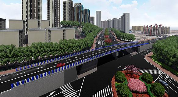 고속도로 재건설 프로젝트의 뷰 설계