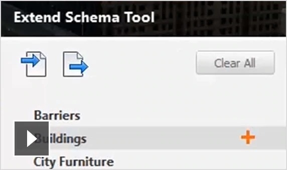 Video: Use the Extended Schema tool to meet BIM requirements with more aggregated models containing deep metadata