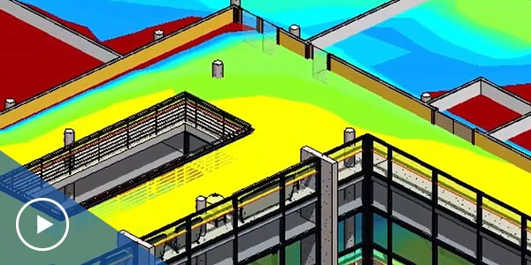 Building performance analysis software for daylighting analysis