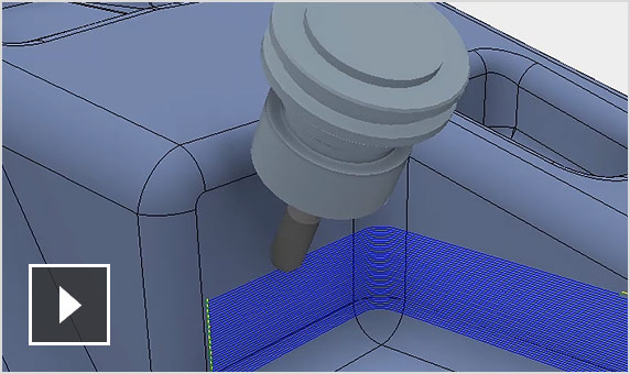 Video: Inventor CAM 2020 demonstration of 4- and 5-axis milling