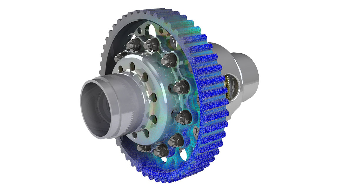 Simulation of bolt connectors in Inventor Nastran
