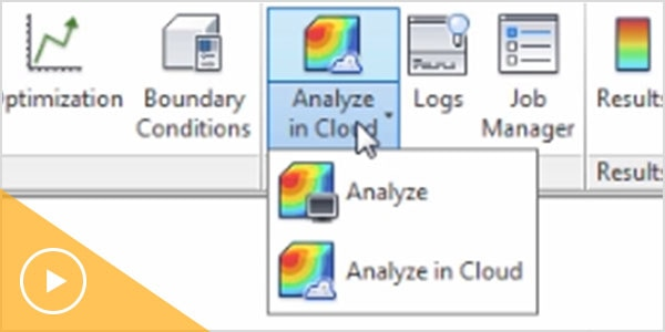 Run up to 3 analyses in the cloud with Moldflow Insight.
