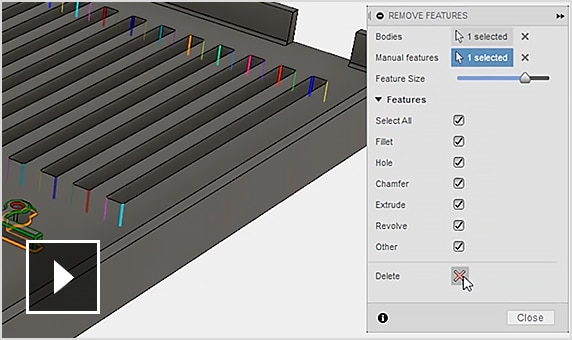 Video: Fusion 360 interop with Moldflow