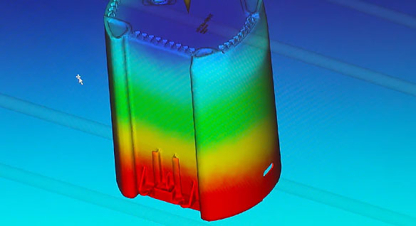 Video summarizing 3-Dimensional Systems Group's use of Autodesk Moldflow and Autodesk PowerShape for mold and part design