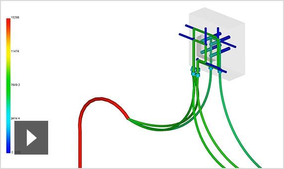 视频:使用 Moldflow Insight 中的冷却液流动分析,优化工具和机器的冷却设置