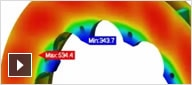 Heat transfer helps to avoid failures from thermal stress