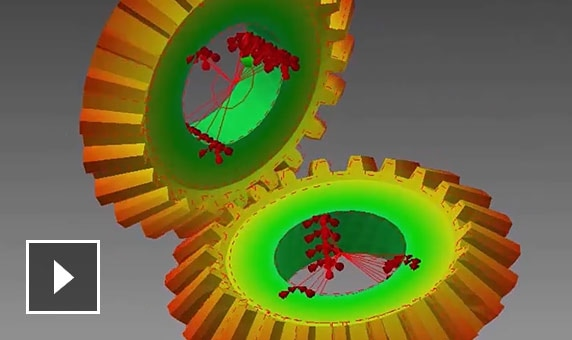 Video: parts and models demonstrate linear and non-linear analysis, dynamic response, impact analysis