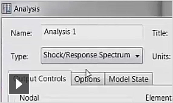 Video: A simple building model to test various Nastran options for analyses