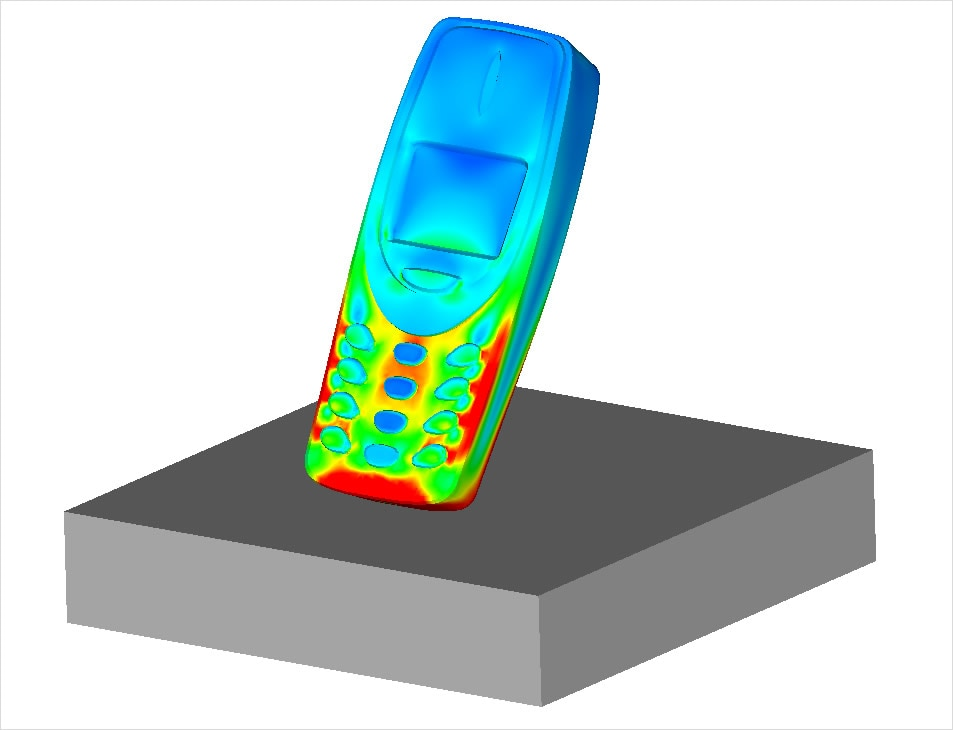 See realistic impact and drop test simulations