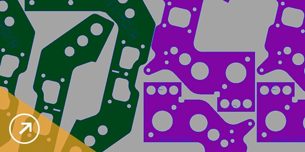 Bild: Verschachtelungstechnologien zum Reduzieren der Verschwendung von Rohmaterialien