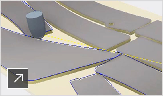 Screenshot displays how to generate cutting paths from 3D models in Inventor Nesting 2020