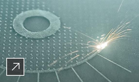 Additive Fertigung mittels Laser-Pulverbettverfahren