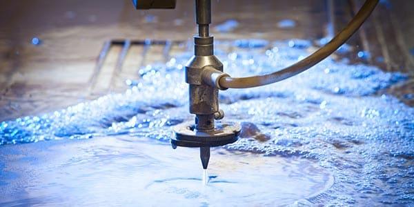Water jet for sheet metal design
