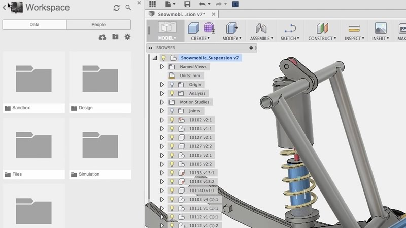 Fusion 360 data management tutorial