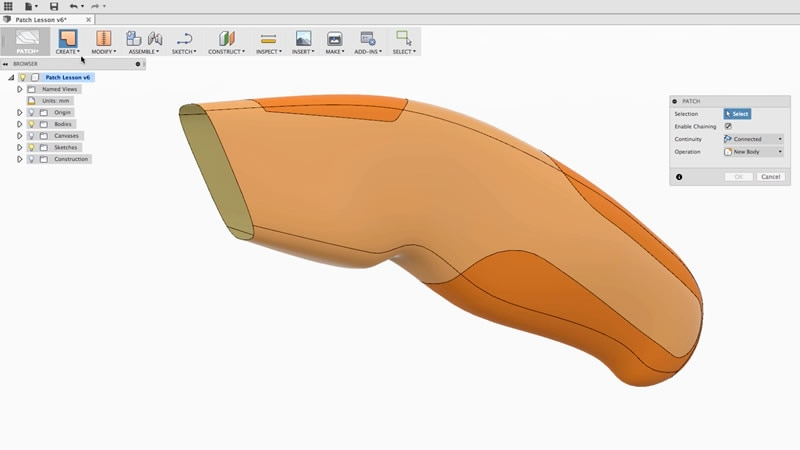 Fusion360 patch
