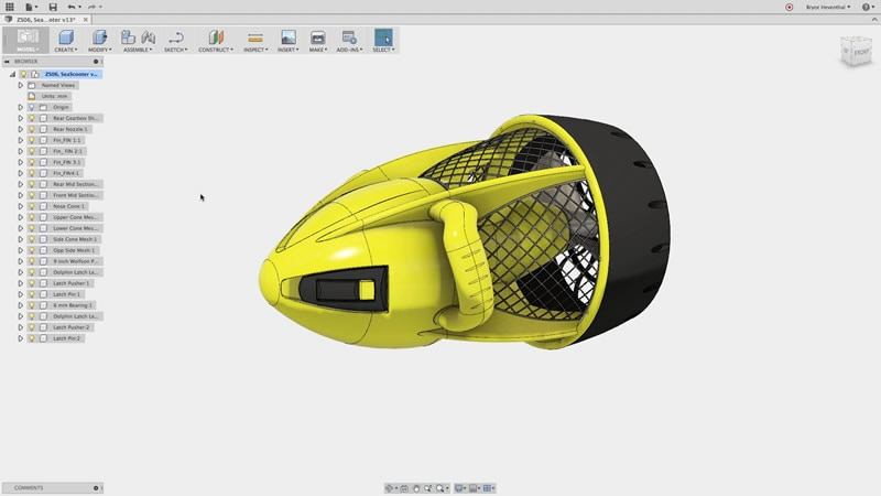 how to create outlines in autodesk fusion