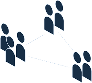Illustration of people collaborating