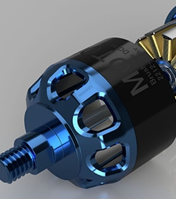 Brushless DC Motor modeled in Fusion 360 CAD/CAM software