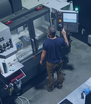 Haas CNC milling machine at Autodesk's Pier 9