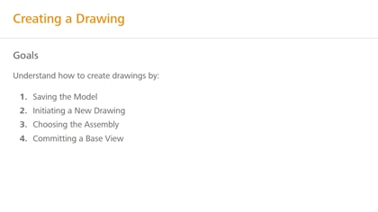Create a drawing