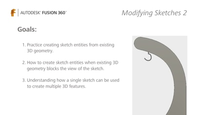 Create sketch entities from existing 3D geometry and more.
