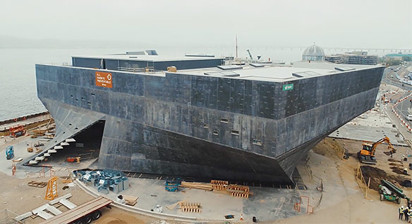 V&D Dundee building in progress