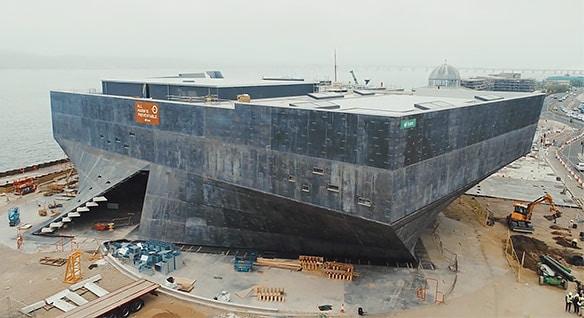 V&D Dundee building in progress