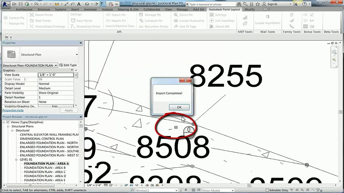 Construction layout software point layout autodesk for Construction layout software