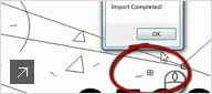 Import field conditions to create an as-built model