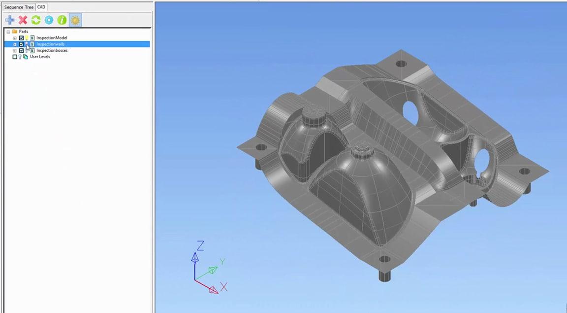 轻松从检测中排除 CAD 标高和曲面