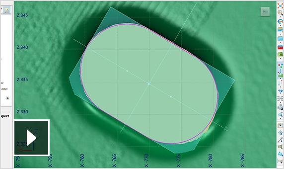 Création de features 2D à partir de nuages de points