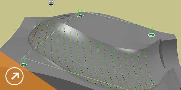 Inspect complex free-form surfaces